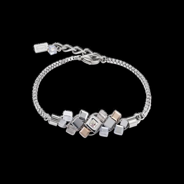 Silver-Rose Cluster Bracelet Vandenbergs Fine Jewellery Winnipeg, MB