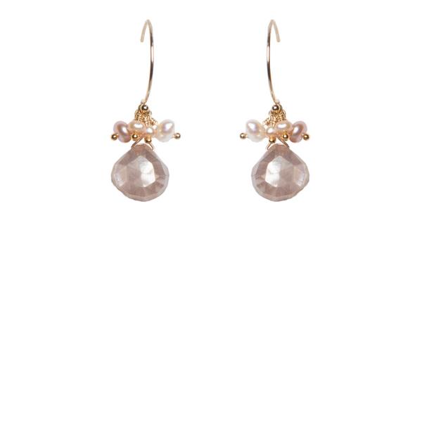 Moonstone Earrings Vandenbergs Fine Jewellery Winnipeg, MB