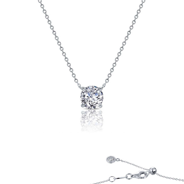 1 CTW Solitaire Necklace Vandenbergs Fine Jewellery Winnipeg, MB
