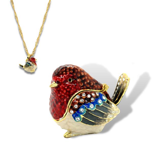 Robin Red Breast Trinket Box Vandenbergs Fine Jewellery Winnipeg, MB