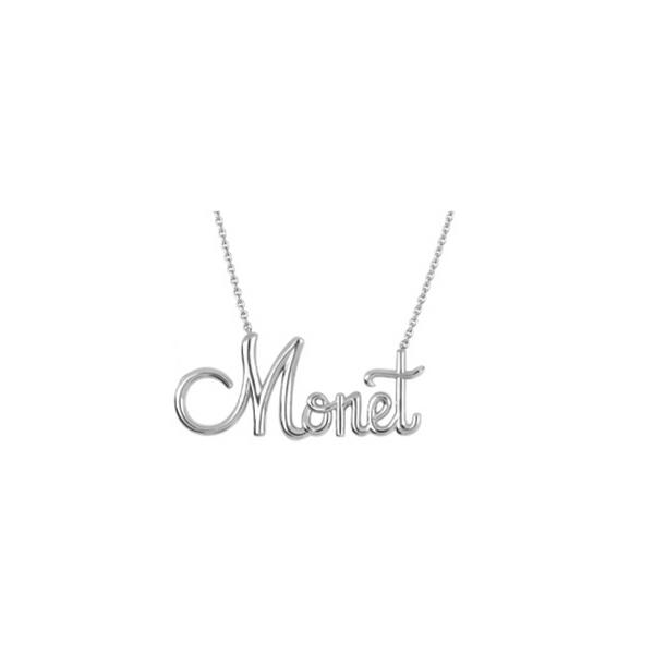 Script Name Necklace Vandenbergs Fine Jewellery Winnipeg, MB