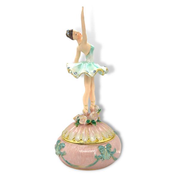 Dance Ballerina Trinket Box Image 2 Vandenbergs Fine Jewellery Winnipeg, MB