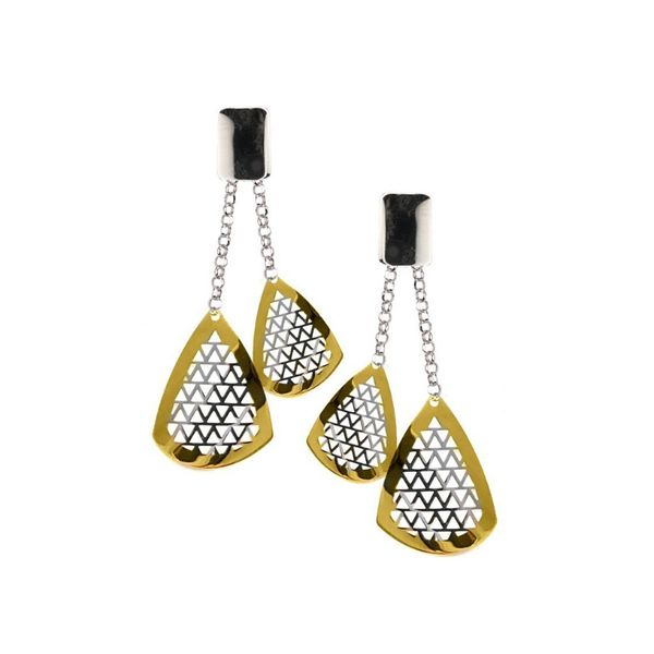 Frederic Duclos Grid Earrings