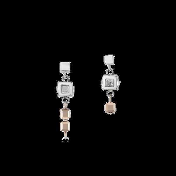 Silver-Rose Cluster Earrings Vandenbergs Fine Jewellery Winnipeg, MB