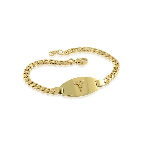 Ladies Yellow Medical Bracelet Vandenbergs Fine Jewellery Winnipeg, MB