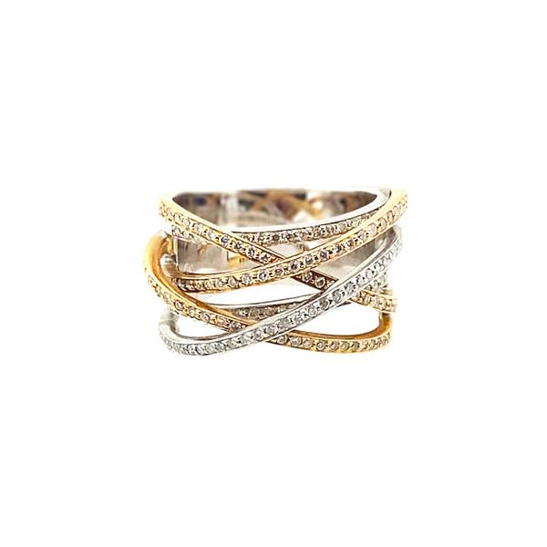 18K Tri-Tone Diamond Fashion Ring Vandenbergs Fine Jewellery Winnipeg, MB