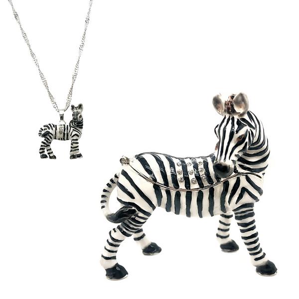 Savannah the Zebra Trinket Box Vandenbergs Fine Jewellery Winnipeg, MB