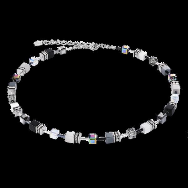 Black & White Haematite GeoCube Necklace Vandenbergs Fine Jewellery Winnipeg, MB