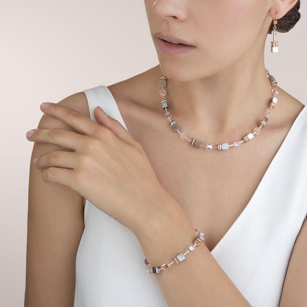 Botswana Agate & Haematite Apricot Necklace Image 2 Vandenbergs Fine Jewellery Winnipeg, MB