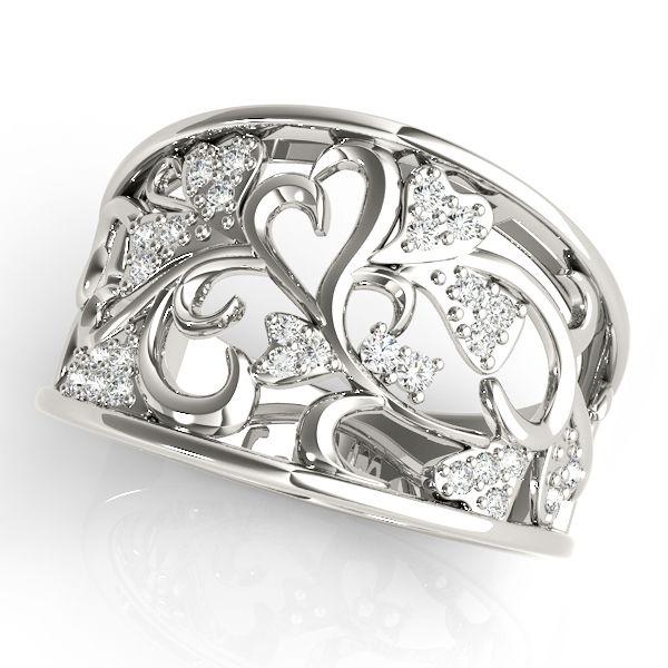 14K White Gold Lab Grown Diamond Ring Image 2 Vandenbergs Fine Jewellery Winnipeg, MB