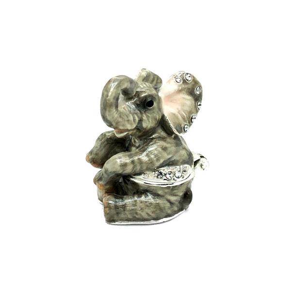 Mini Elephant Trinket Box Vandenbergs Fine Jewellery Winnipeg, MB
