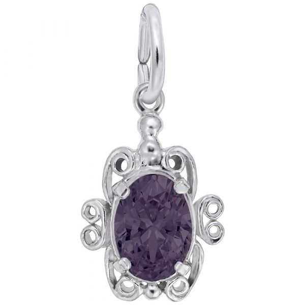 June Birthstone Charm Vandenbergs Fine Jewellery Winnipeg, MB