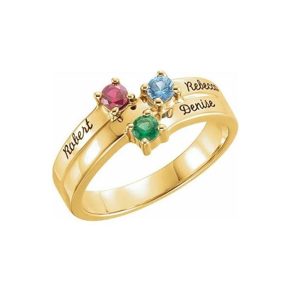 family ring gold