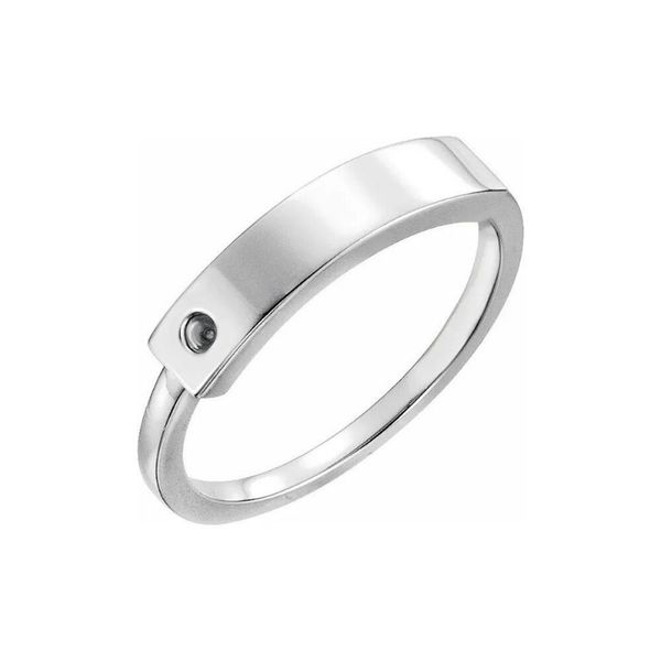 name ring silver