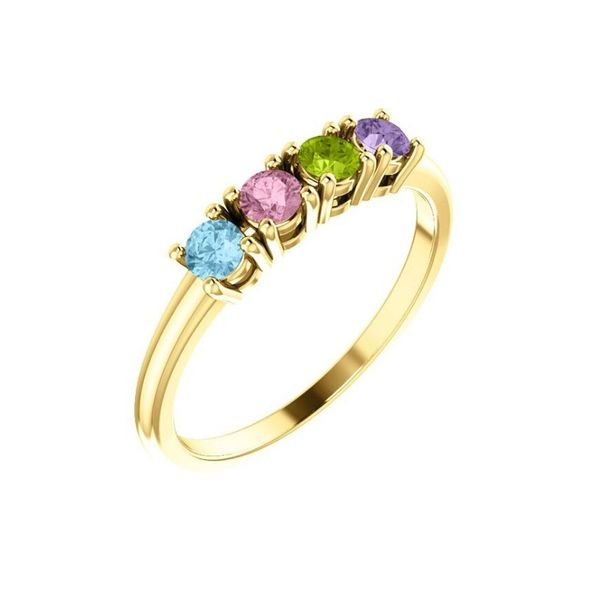 family stone ring gold