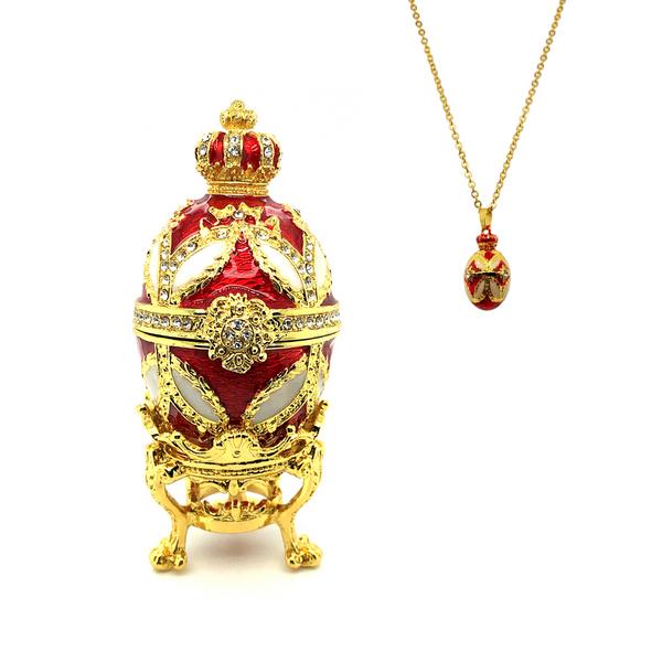 Crown Of Splendor Egg Trinket Box Vandenbergs Fine Jewellery Winnipeg, MB