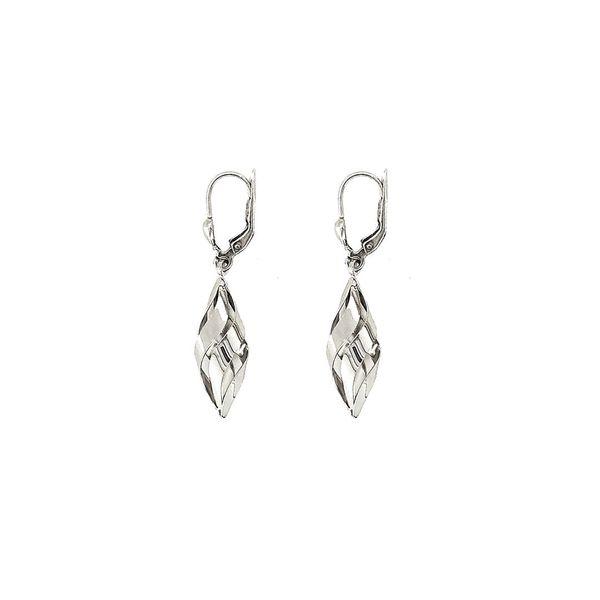 Sterling Silver Geo Swirl Earrings Vandenbergs Fine Jewellery Winnipeg, MB