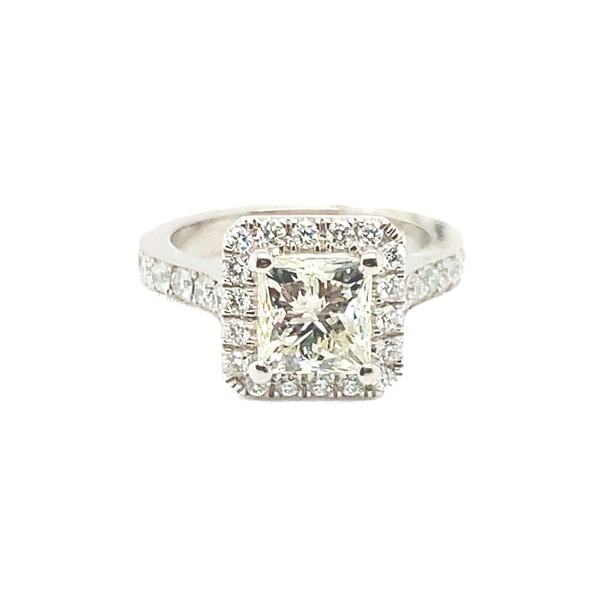18K White Gold Diamond Ring Vandenbergs Fine Jewellery Winnipeg, MB