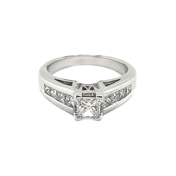 Platinum Diamond Engagement Ring Vandenbergs Fine Jewellery Winnipeg, MB