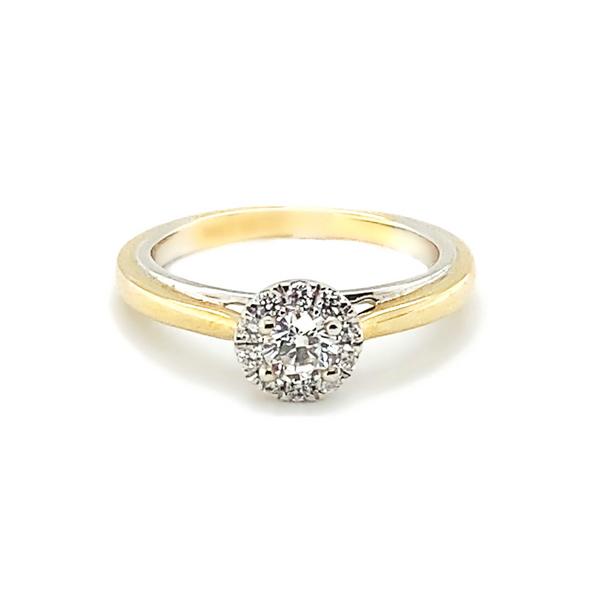 Two-Tone Diamond Engagement Ring Vandenbergs Fine Jewellery Winnipeg, MB
