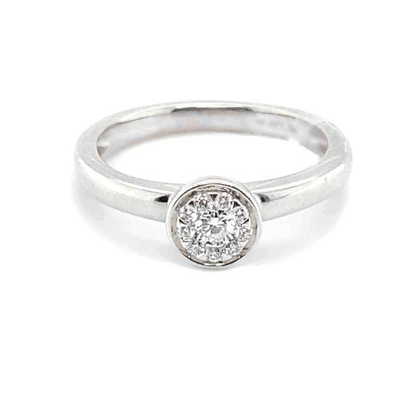 14K White Gold Diamond Engagement Ring Vandenbergs Fine Jewellery Winnipeg, MB