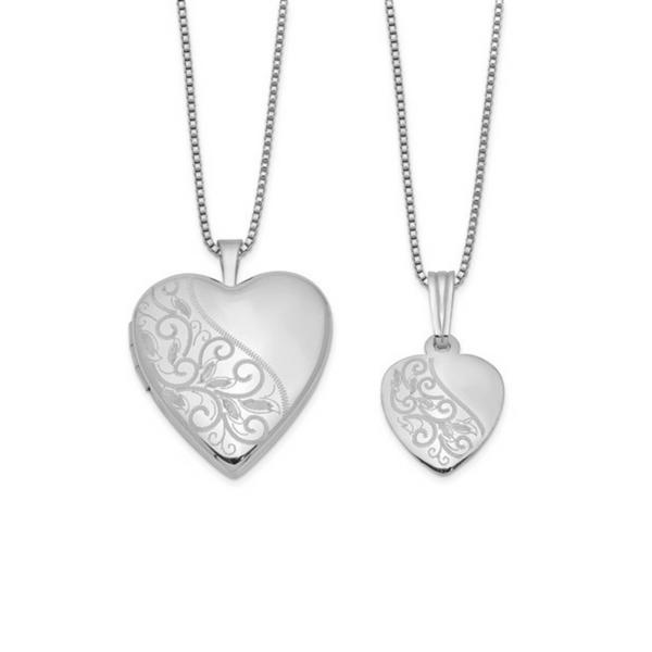 Sterling Silver Heart Locket & Pendant Vandenbergs Fine Jewellery Winnipeg, MB