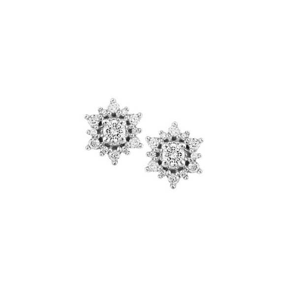 10K White Gold Diamond Studs Vandenbergs Fine Jewellery Winnipeg, MB