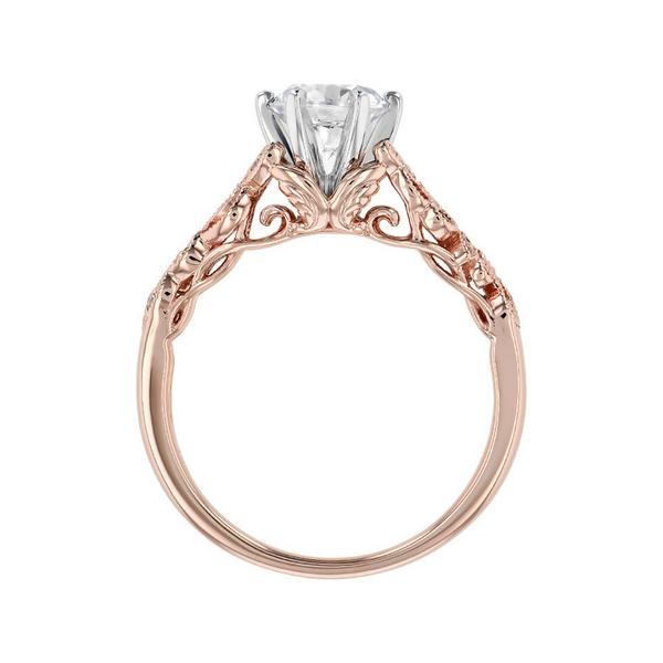 14K Rose Gold Engagement Ring Image 2 Vandenbergs Fine Jewellery Winnipeg, MB