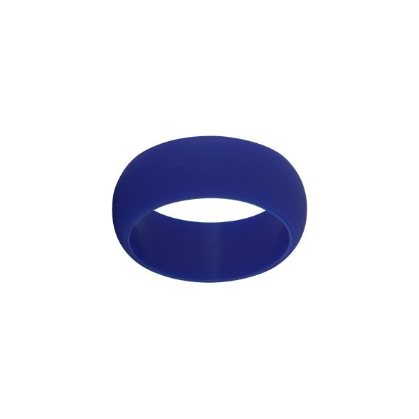 TruBand Wide Silicone Ring In Blue Vandenbergs Fine Jewellery Winnipeg, MB