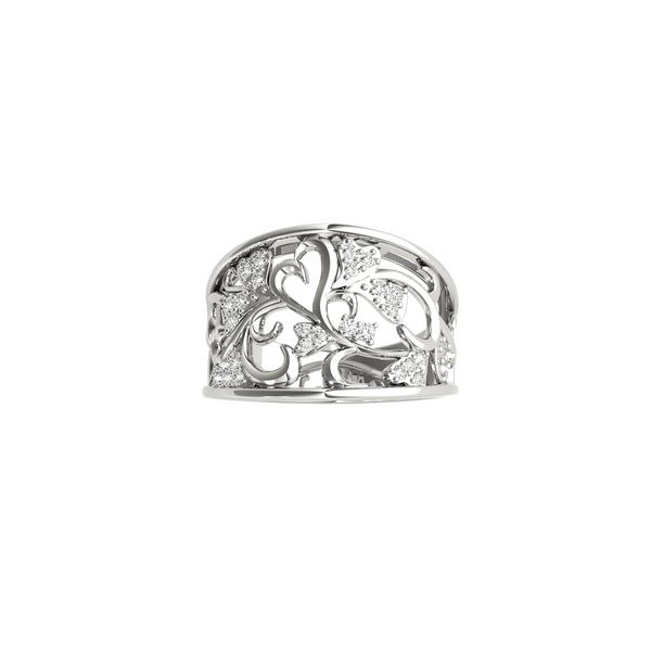 14K White Gold Lab Grown Diamond Ring Vandenbergs Fine Jewellery Winnipeg, MB