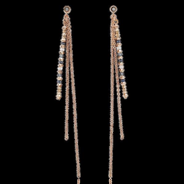 Rose Gold-Grey Waterfall Earrings Vandenbergs Fine Jewellery Winnipeg, MB
