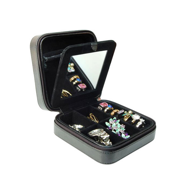 Gunther Mele Travel Jewellery Case Image 2 Vandenbergs Fine Jewellery Winnipeg, MB