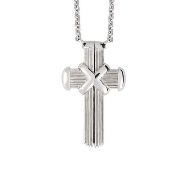 Petra Azar Sterling Silver Cross Pendant
