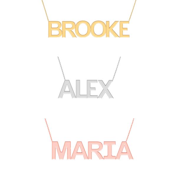 Name Necklace Image 2 Vandenbergs Fine Jewellery Winnipeg, MB