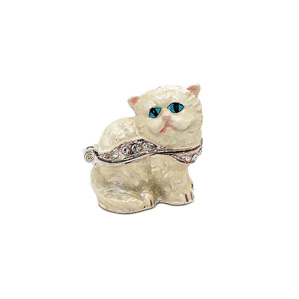 Mini Kitten Trinket Box Vandenbergs Fine Jewellery Winnipeg, MB