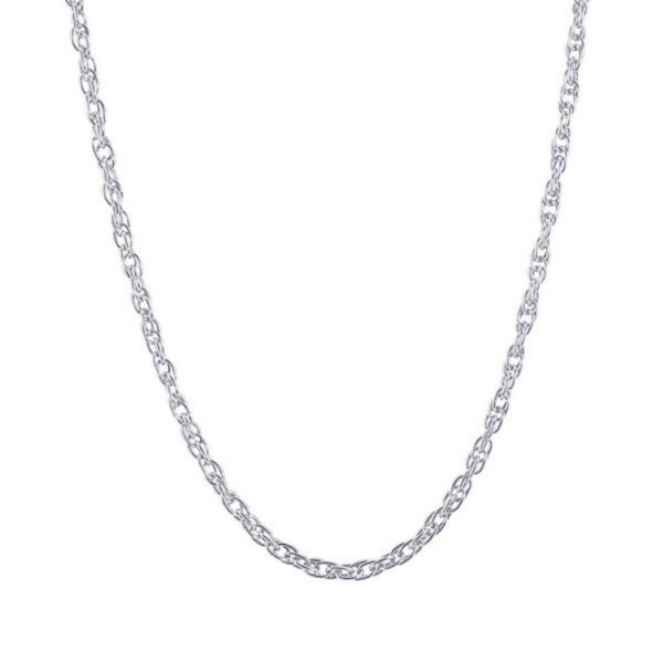 """22"""" Sterling Silver Rope Chain Necklace Image 2 Vandenbergs Fine Jewellery Winnipeg, MB"""