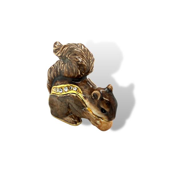 Playful Squirrel Trinket Box Vandenbergs Fine Jewellery Winnipeg, MB