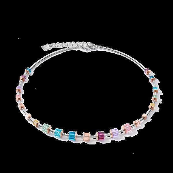 Swarovski Crystal Pastel GeoCube Necklace Vandenbergs Fine Jewellery Winnipeg, MB