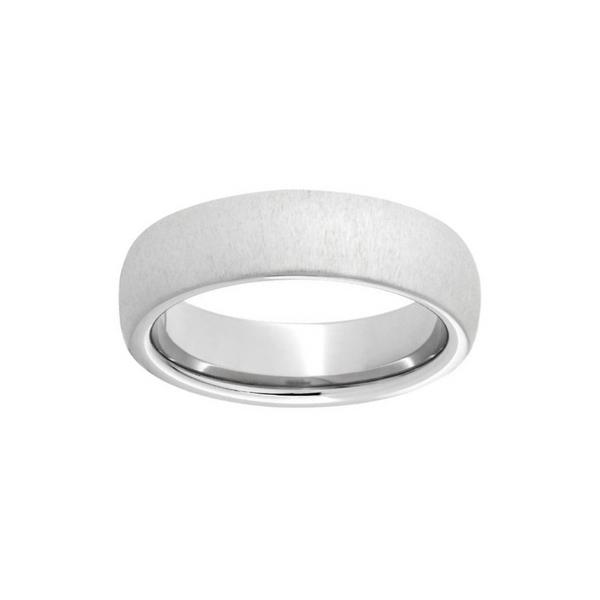 TruBand Silicone Ring In Metallic Silver Vandenbergs Fine Jewellery Winnipeg, MB