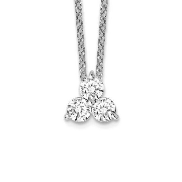 14K White Gold Diamond Necklace Vandenbergs Fine Jewellery Winnipeg, MB