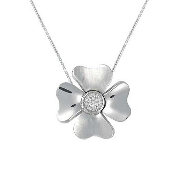 Petra Azar Sterling Silver 4-Leaf Clover Pendant