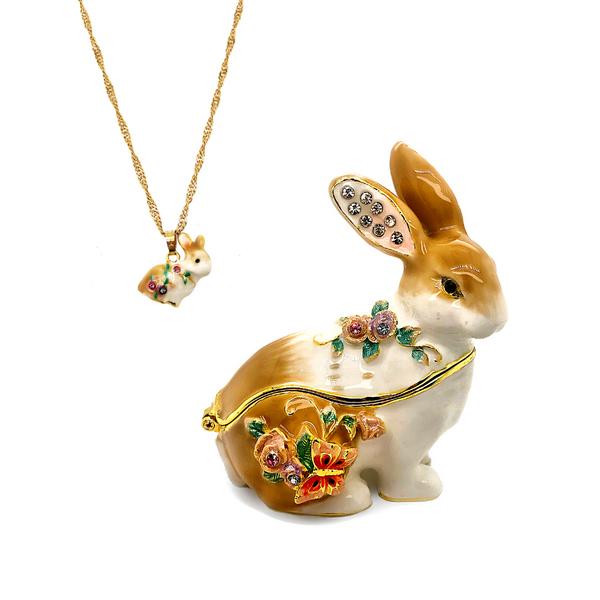 Ms. Serenity Rabbit Trinket Box Vandenbergs Fine Jewellery Winnipeg, MB