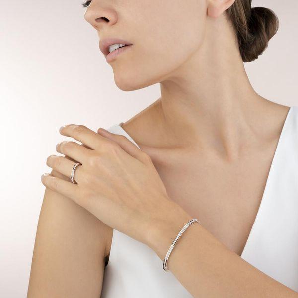 Rose Crystal Pave Bangle Image 2 Vandenbergs Fine Jewellery Winnipeg, MB