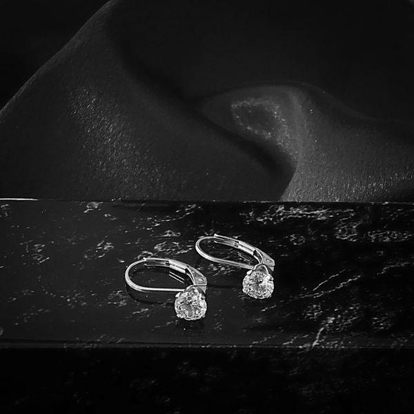 Sterling Silver Cubic Zirconia Earrings Image 2 Vandenbergs Fine Jewellery Winnipeg, MB