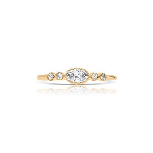 14K Yellow Gold Diamond Ring Vandenbergs Fine Jewellery Winnipeg, MB