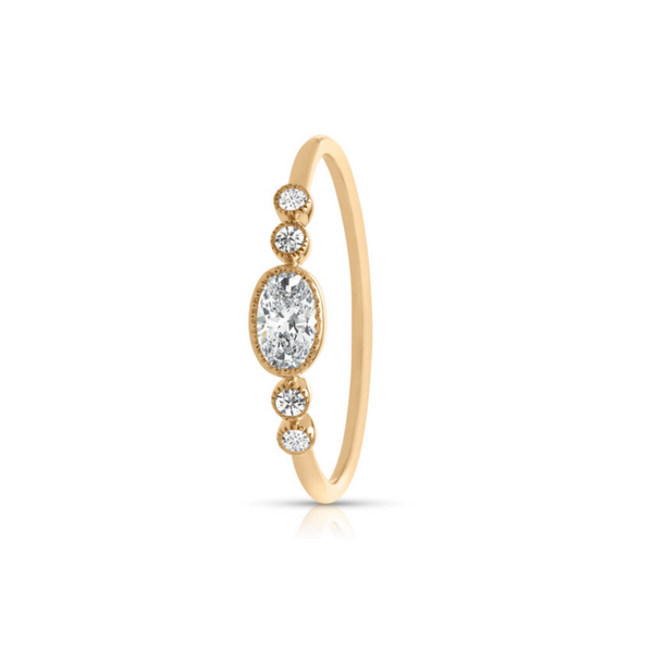 14K Yellow Gold Diamond Ring Image 2 Vandenbergs Fine Jewellery Winnipeg, MB
