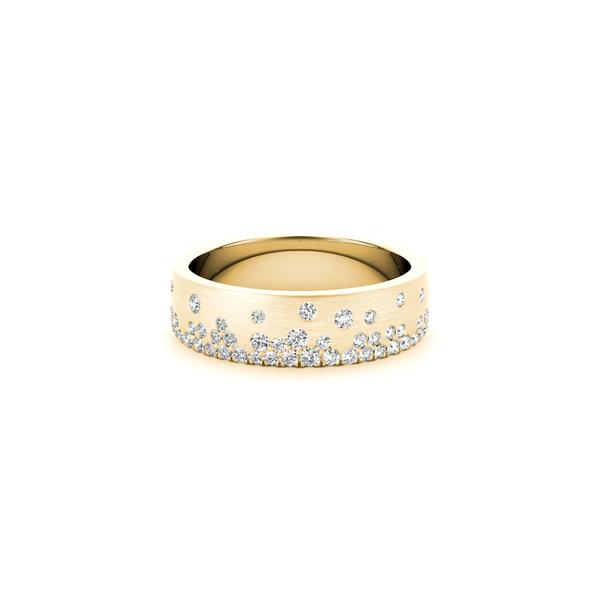 14K Gold Lab Grown Diamond Band Image 2 Vandenbergs Fine Jewellery Winnipeg, MB