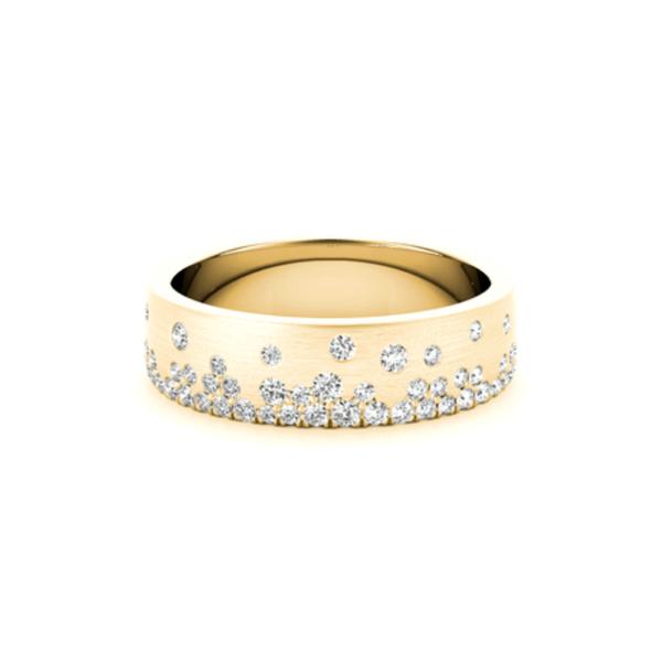 14K Gold Lab Grown Diamond Band Vandenbergs Fine Jewellery Winnipeg, MB