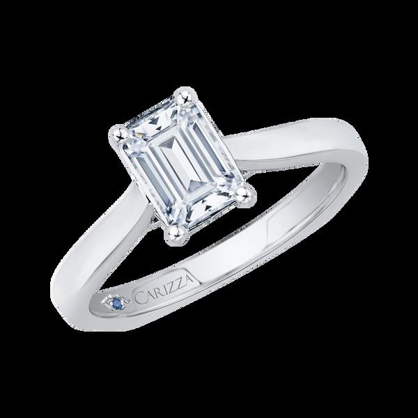 White Gold Semi-Mount Solitaire Engagement Ring Image 2 Vandenbergs Fine Jewellery Winnipeg, MB