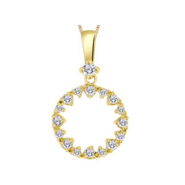 Diamond Eternity Pendant Vandenbergs Fine Jewellery Winnipeg, MB